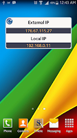Screenshot of IP Discovery - Widget