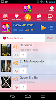 Screenshot of Rádio Feliz FM