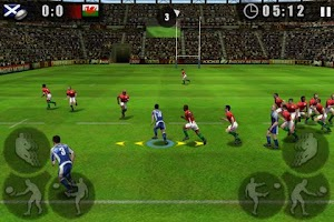 Screenshot of Rugby Nations 2011