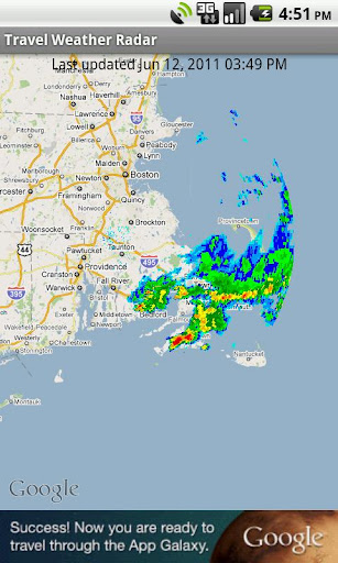Travel Weather Radar