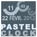 Pastel Clock