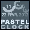 Pastel Clock icon