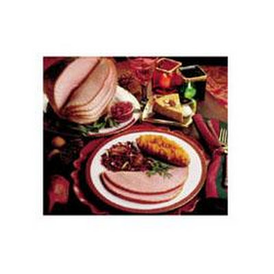 Spiced Cranberry Glazed Ham