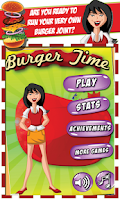 Screenshot of Burger Time