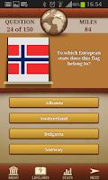 Screenshot of Genius Geography Quiz Lite
