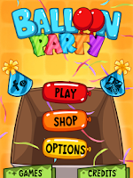 Screenshot of Balloon Party - Birthday Game