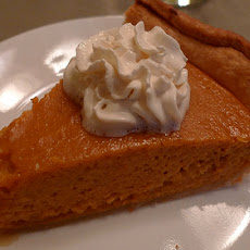 Easy and Really Good Creamy Pumpkin Pie