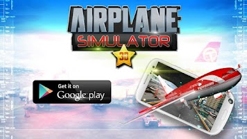 Screenshot of 3D AIRPLANE SIMULATOR