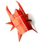 Beetle Origami 1 icon