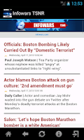 Screenshot of Infowars News TSNR