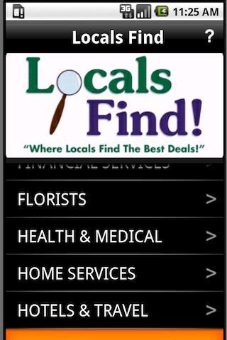 Locals Find