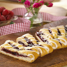 Raspberry Breakfast Braid