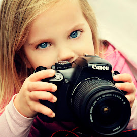 Let me take a photo of you Mummy. by Lucia STA - Babies & Children Child Portraits