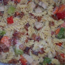 Bacon and Vegetable Pasta Salad