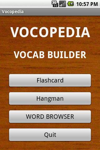 Vocopedia lite
