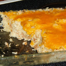Cheese-Topped Tuna Casserole