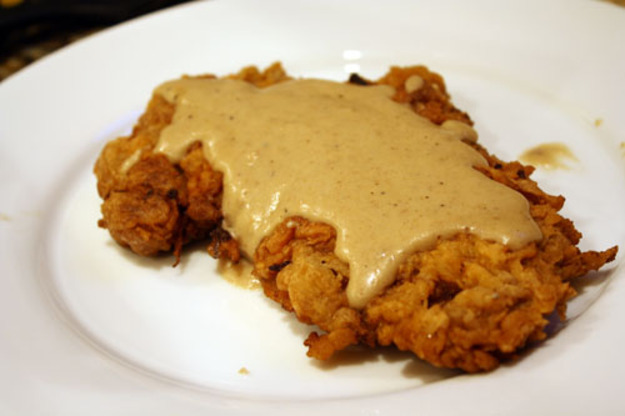 Chicken Fried Steak with Cream Gravy Recipe | Yummly