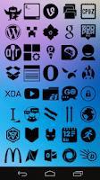 Screenshot of Stamped Black Icons