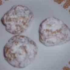Molasses Snowballs