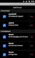 Screenshot of ProBoards