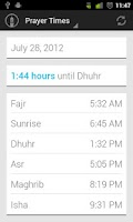 Screenshot of Muslim Prayer Times Free