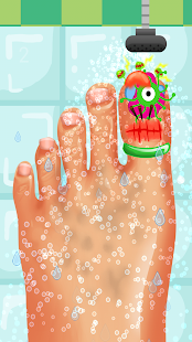 Nail Doctor Kids Games - screenshot