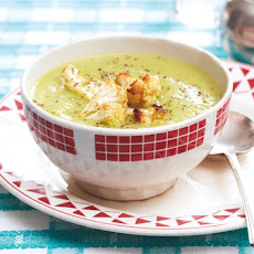 Cauliflower and Arugula Soup Recipe