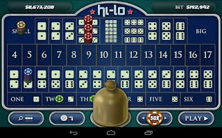 Screenshot of SicBo Casino Dice Game