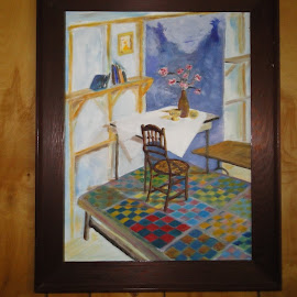 Here is a picture that did not load the first time.  Vernon J Sistrunk art gallery by Donna Magee - Painting All Painting