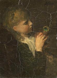 RIJKS: Jacob Maris: painting 1877