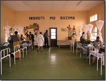 A rural clinic in Rwanda, photo credit Neal Lesh of the OpenMRS community