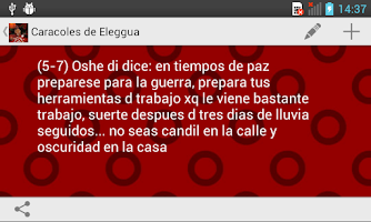 Screenshot of Caracoles de Eleggua