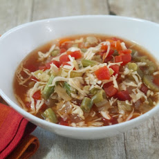 Slow Cooker Tomato Cabbage Soup