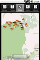 Screenshot of Trackeen Mushroom Edition