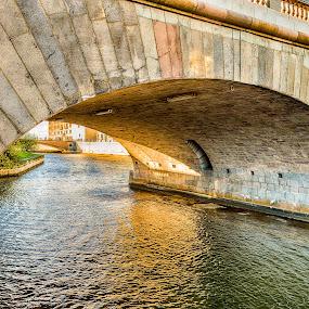 Under the bridges by Dan Westtorp - Buildings & Architecture Bridges & Suspended Structures