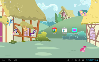 Screenshot of Brony Live Wallpaper