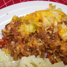 Cajun Cabbage and Beef