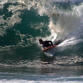 Breaking Waves by Lasanthica Fernando Benedict - Sports & Fitness Surfing ( water, love, wave, ocean, fun, surf )