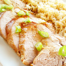 Roast Pork Tenderloin with Asian Glaze
