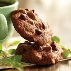 Chocolate-Mint Brownie Cookies