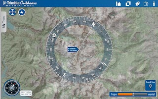 Screenshot of MyTopo Maps - Trimble Outdoors