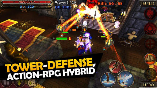 dungeon-defenders-second-wave for android screenshot