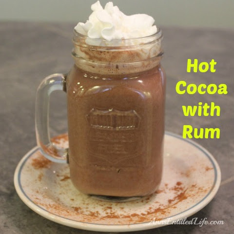 Hot Cocoa And Rum Recepten | Yummly