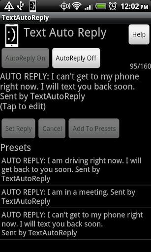 TextAutoReply