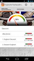 Screenshot of Englische Fachausdrücke