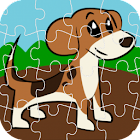 Puppy Jigsaw Puzzle icon