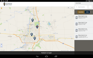 Screenshot of Illinois Bank & Trust Mobile