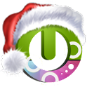Santa on the way Magic Locker icon