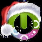 Santa on the way Magic Locker icon