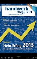 Screenshot of handwerk magazin